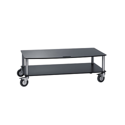 BigBase TV-Trolley with 2 shelf | Multimedia trolleys | Cascando