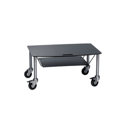 BigBase TV-Trolley with DVD tray | Multimedia trolleys | Cascando