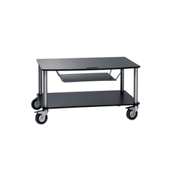 BigBase TV-Trolley with 2 shelfs + DVD t | Multimedia Trolleys | Cascando