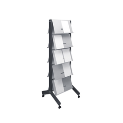 Round 20 Standing brochure holder | Brochure / Magazine display stands | Cascando