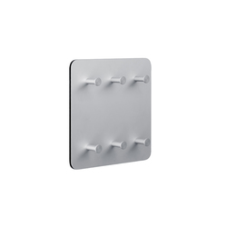 Round 20  Wall panel, 6 key holders | Attaccapanni a ganci | Cascando