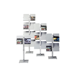 Flexxible double 2 | Brochure / Magazine display stands | Cascando