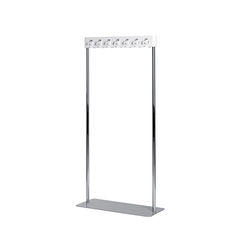 Flow cloakroom unit, large | Stender guardaroba | Cascando