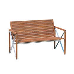 Xylofon bench | Garden benches | Magnus Olesen