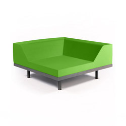 M2 Corner | Modular seating elements | Quinze & Milan