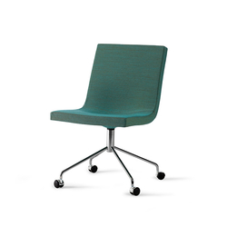 Bond chair with castors | Sillas de oficina | OFFECCT