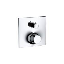 AXOR Massaud Thermostatic Mixer for concealed installation with shut-off valve | Shower controls | AXOR