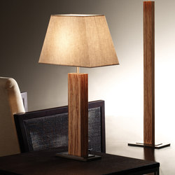 Tau wood table lamp | General lighting | BOVER