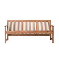Praslin Bench | Garden benches | Tribù