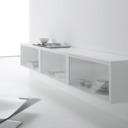 Whitecase | Display cabinets | MDF Italia