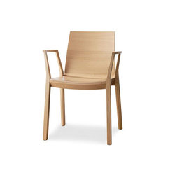 arta stacking chair with arms | Chairs | Wiesner-Hager
