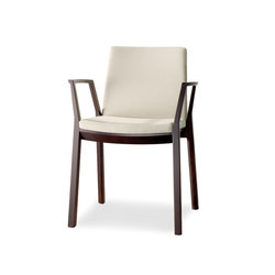 arta stacking chair with arms | Sedie | Wiesner-Hager