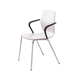 Mezzo | Visitors chairs / Side chairs | Bene