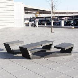 Banda Doblada | Exterior benches | Escofet 1886