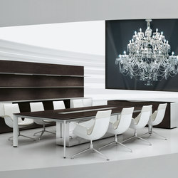 AL | Conference | Multimedia conference tables | Bene