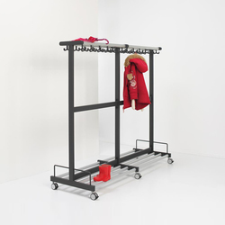 Tertio Junior | Cloakroom systems | van Esch