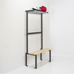 Tertio BEV+ | Changing room furnishings | van Esch