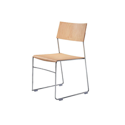 outline chair | Sillas de visita | Wiesner-Hager