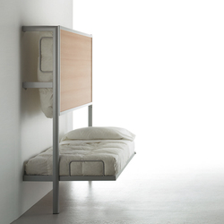 La Literal Folding Bunkbed | Wall beds | Sellex