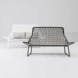 Maia 2 seater sofa | Sofás de jardín | KETTAL