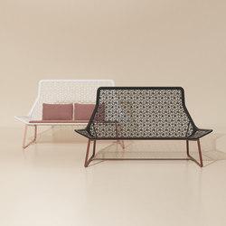 Maia 2 seater sofa | Garden sofas | KETTAL