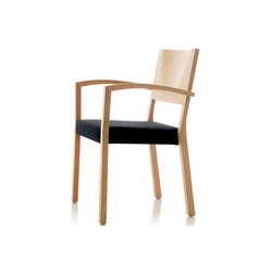 S13 chair with armrests | Sedie visitatori | Wiesner-Hager
