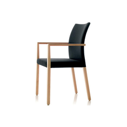S15 chair with armrests | Visitors chairs / Side chairs | Wiesner-Hager