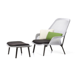 Slow Chair & Ottoman | Fauteuils d'attente | Vitra