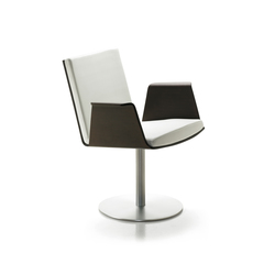 Don swivel leg armchair | Sedie conferenza | Sellex