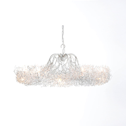 Hollywood chandelier candlestick | Ceiling suspended chandeliers | Brand van Egmond