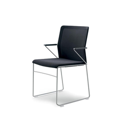 outline chair with armrests | Sillas de visita | Wiesner-Hager