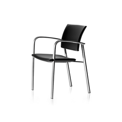 SQ Chair | Visitors chairs / Side chairs | ENEA