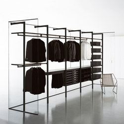 Storage Cabina Armadio | Walk-in wardrobes | PORRO