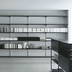 Newtone bookcase | Office shelving systems | PORRO