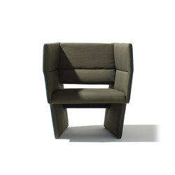 Cup armchair | Poltrone lounge | Richard Lampert