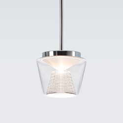Annex Suspension clear / crystal | Illuminazione generale | serien.lighting