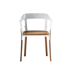 Steelwood Chair | Visitors chairs / Side chairs | Magis