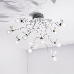 Birds | Birdie's Nest LED | Ceiling lights | Ingo Maurer