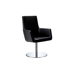 Happy swivel armchair | Restaurant chairs | Swedese