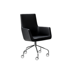 Happy swivel chair | Chairs | Swedese