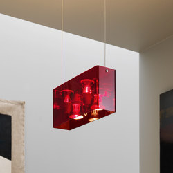 Duplex Suspension lamp | General lighting | FontanaArte