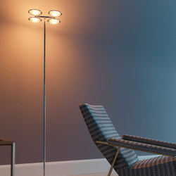 Nobi 4 Floor lamp | General lighting | FontanaArte