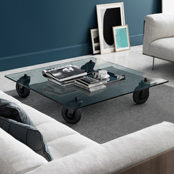 Tavolo con Ruote Table basse | Tables basses | FontanaArte