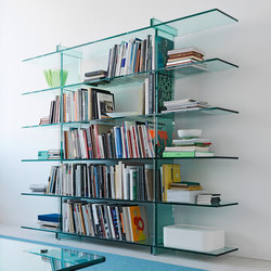 Teso Bookcase | Shelves | FontanaArte