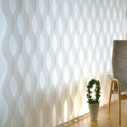 Silent Gliss Vertical Waves | Cortinas verticales | Silent Gliss