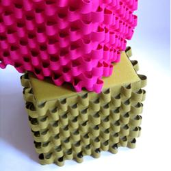 Loop cubes | Poufs / Polsterhocker | ANNE KYYRÖ QUINN