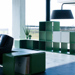 q56_partition_ferngreen_pure white | Room dividers | qubing.de