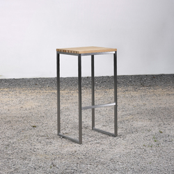 Stool on_07 | Taburetes de bar de jardín | Silvio Rohrmoser