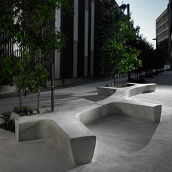 Twig | Exterior benches | Escofet 1886
