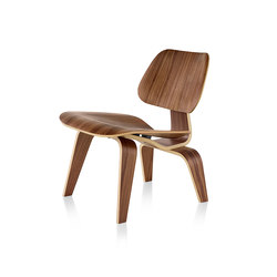 Eames Molded Plywood Lounge Chair Wood Base | Armchairs | Herman Miller